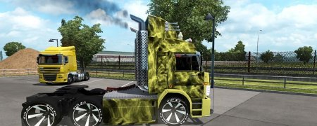 Скачать мод грузовик Камаз-54115 Turbo V8 v.21.09.18 для Euro Truck Simulator 2 v. 1.26-1.32
