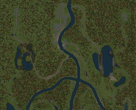 Скачать мод карта «Вилка» для Spintires MudRunner