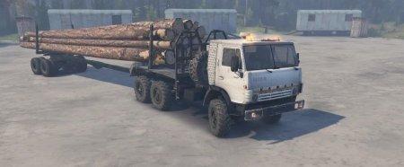 Скачать мод грузовик Камаз-5320 для Spintires v. 03.03.16
