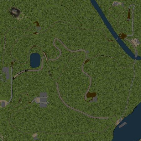 Скачать мод карта «Березовая роща» для Spintires v. 03.03.16