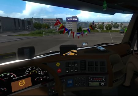Скачать мод грузовик Volvo VNL670 v.1.6 для Euro Truck Simulator 2 v. 1.32