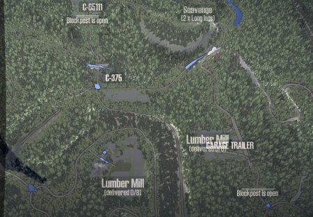 Скачать мод карта «ТрансМиссия 2» для Spintires MudRunner
