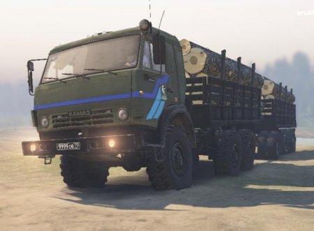 Скачать мод грузовик КамАЗ-5350 для Spintires v. 03.03.16