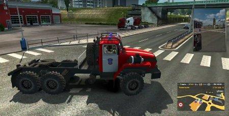 Скачать мод грузовик Урал-4320-10 для Euro Truck Simulator 2 v. 1.31-1.32