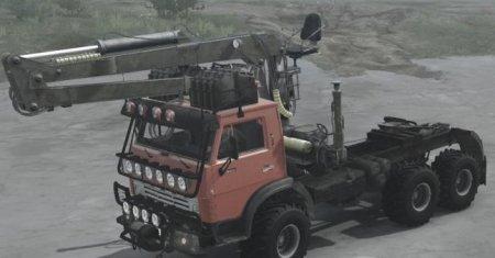 Скачать мод грузовик Камаз-4310 Ржавый версия 2 для Spintires MudRunner