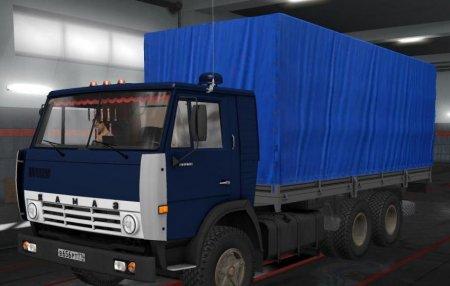 Скачать мод ПАК грузовиков КамАЗ-5410/5511/4310/53212 версия 10.11.18 для Euro Truck Simulator 2 v. 1.31-1.32