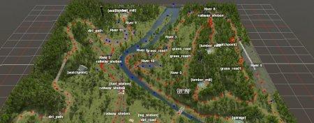 Скачать мод карта «Это просто сон» для Spintires MudRunner