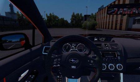 Скачать мод Subaru Impreza WRX STI 2017 для Euro Truck Simulator 2 v. 1.31-1.33