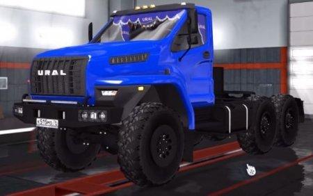 Скачать мод грузовик Урал Next версия 1.2 для Euro Truck Simulator 2 v. 1.31-1.33