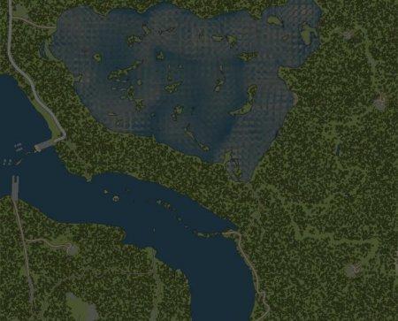 Скачать мод карта «Змеиные дороги» для Spintires MudRunner