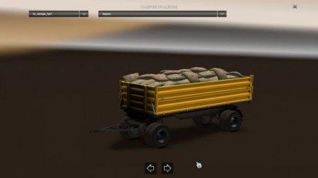 Скачать мод пак тандем прицепов Большой v.1.3 для Euro Truck Simulator 2 v. 1.28-1.30