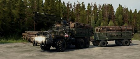Скачать мод грузовик Урал 432010 для Spintires MudRunner