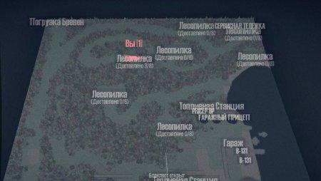 Скачать мод карта «Лес Хард» для Spintires MudRunner