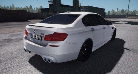 Скачать мод BMW M5 F10 для Euro Truck Simulator 2 v. 1.32-1.33