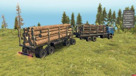 Скачать мод грузовик КамАЗ-43118 Long для Spintires v. 03.03.16
