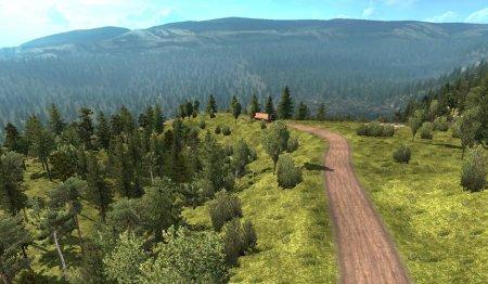 Скачать мод карта «Canada Map» версия 0.2.3 для Euro Truck Simulator 2 v. 1.33