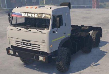 Скачать мод грузовик Камаз 54115 для Spintires v. 03.03.16