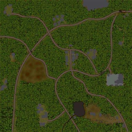 Скачать мод карта «Листопад» для Spintires MudRunner