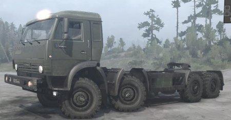 Скачать мод грузовик Камаз 6350 для Spintires MudRunner
