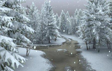 Скачать мод карта «Зима» для Spintires v. 03.03.16
