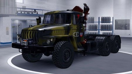 Скачать мод грузовик Урал-4320/43202 версия 6 для Euro Truck Simulator 2 v. ...