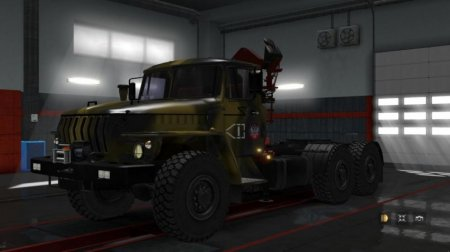 Скачать мод грузовик Урал-4320/43202 версия 6 для Euro Truck Simulator 2 v. 1.32-1.33