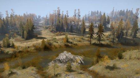 Скачать мод карта «Mighty river» для Spintires MudRunner