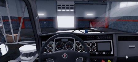Скачать мод грузовик Kenworth C500 JDM для Euro Truck Simulator 2 v. 1.32-1.34