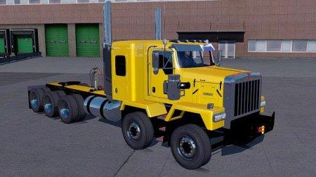 Скачать мод грузовик Kenworth C500 JDM для Euro Truck Simulator 2 v. 1.32-1 ...