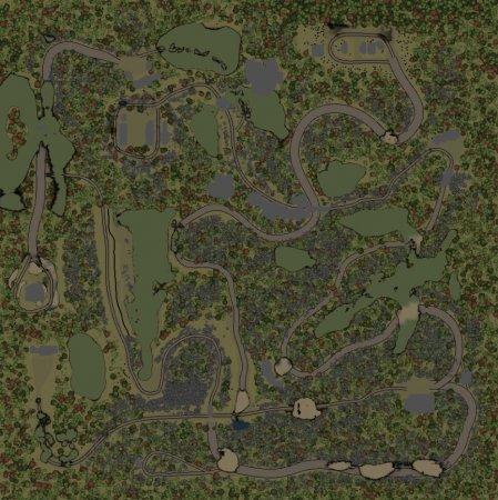 Скачать мод карта «Северо-Запад» для Spintires v. 03.03.16
