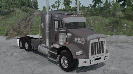 Скачать мод грузовик Kenworth T800 для Spintires v. 03.03.16