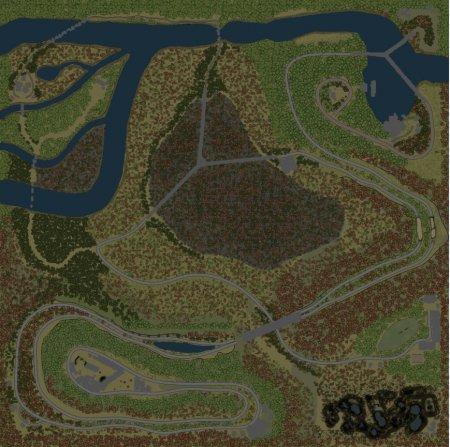 Скачать мод карта «По лезвию» версия 1.1 для Spintires v. 03.03.16