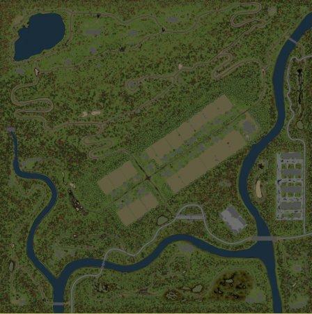 Скачать мод карта «За Холмом» для Spintires MudRunner