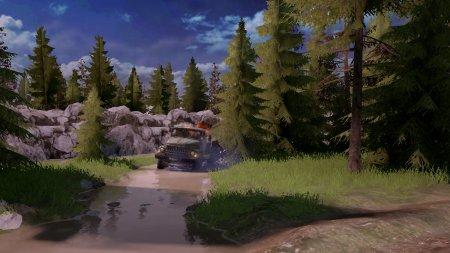 Скачать мод карта «Лесная-2» для Spintires MudRunner