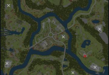 Скачать мод карта «Курайстра» для Spintires MudRunner