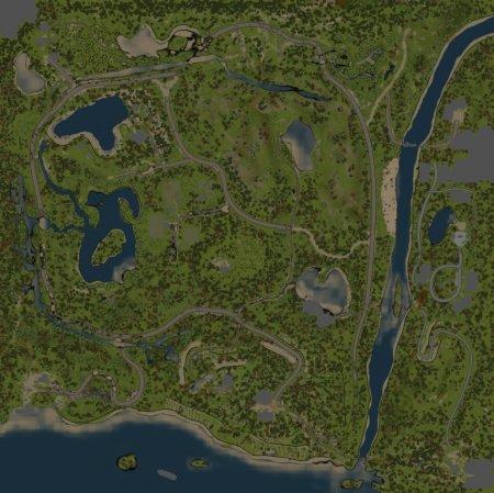 Скачать мод карта «Зеленогорск» для Spintires MudRunner