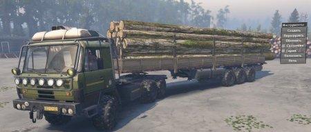 Скачать мод грузовик Tatra 815 для Spintires v. 03.03.16