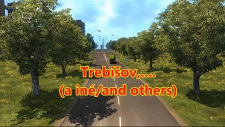Скачать мод карта «New Slovakia» v.15.0 для Euro Truck Simulator 2 v. 1.34