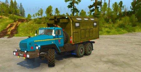 Скачать мод грузовик Урал 432011 для Spintires MudRunner