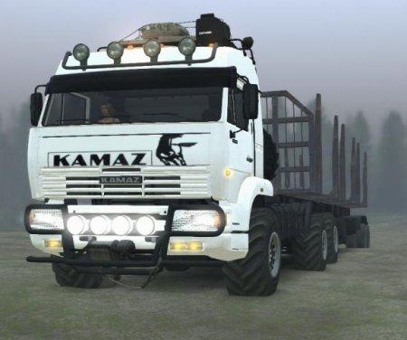 Скачать мод грузовик Камаз 52114 версия 20.04.19 для Spintires v. 03.03.16
