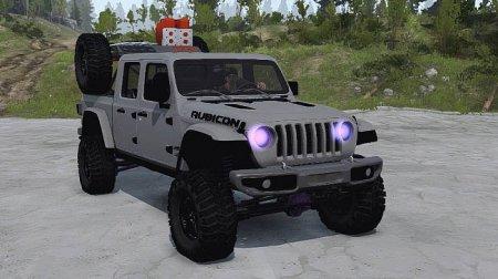 Скачать мод Jeep Gladiator 2020 для Spintires v. 03.03.16