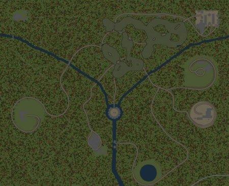 Скачать мод карта «Гул моторов» для Spintires MudRunner