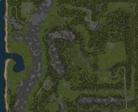 Скачать мод карта «Енот» (evolution) для Spintires MudRunner
