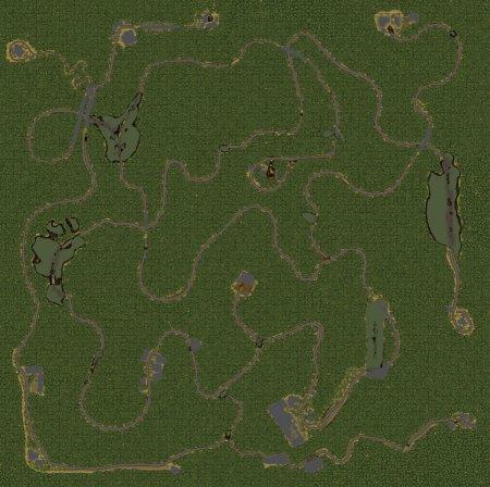 Скачать мод карта «Берёзовка» для Spintires v. 03.03.16