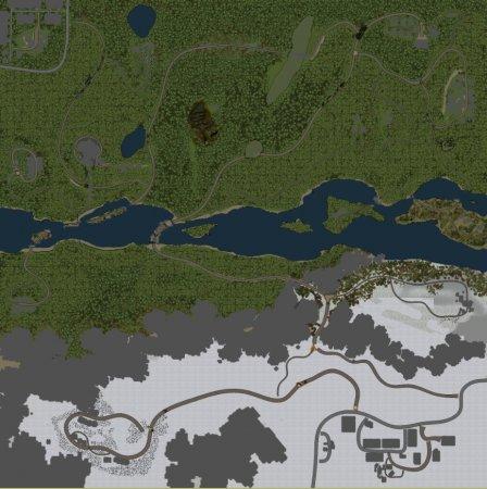 Скачать мод карта «ЗимаЛето» для Spintires v. 03.03.16