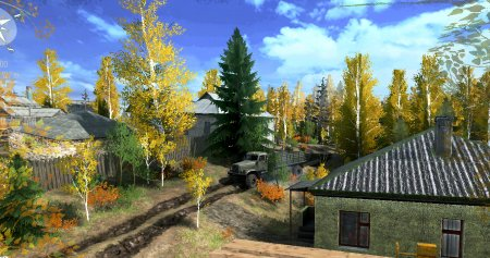 Скачать мод карта «На поселении» для Spintires MudRunner