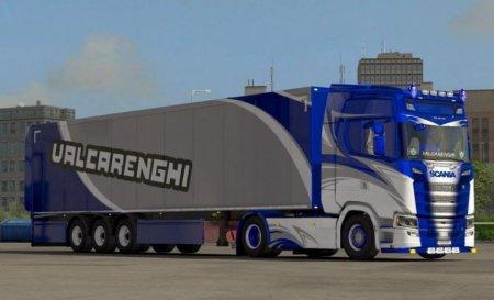 Скачать мод грузовик Scania S Valcarenghi Skin для Euro Truck Simulator 2 v. 1.35
