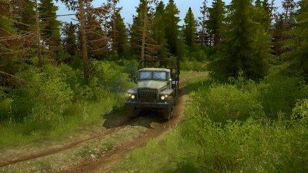 Скачать мод карта «Вырубка погоревшего леса» для Spintires MudRunner