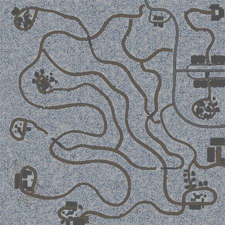 Скачать мод карта «Зимняя Тайга» для Spintires v. 03.03.16