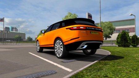 Скачать мод Range Rover Velar для Euro Truck Simulator 2 v. 1.35-1.36